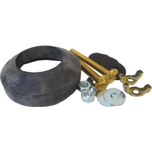 Lasco Toilet Tank To Bowl Bolt Kit with Recessed Gasket