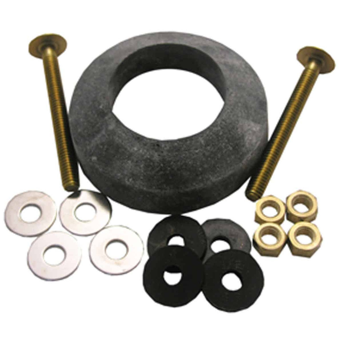 Lasco Toilet Tank To Bowl Bolt Kit with Recessed Gasket  Image 1