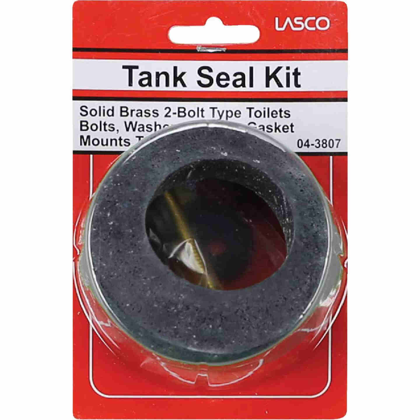 Lasco Toilet Tank To Bowl Bolt Kit with Recessed Gasket  Image 2