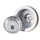 Do it Imperial 3-1/2 In. to 4 In. Stainless Steel Rim & Basket Fixed Post Basket Strainer Assembly Image 1