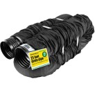 Amerimax FLEX-Drain 4 In. X 25 Ft. Expandable Perforated Drainage Pipe with Sock Image 1