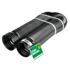 Amerimax 4 In. X 12 Ft. Expandable Solid Drainage Pipe Image 1