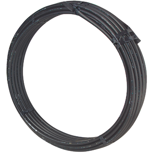 Cresline 3/4 In. X 100 Ft. Spartan Black Plastic Pipe