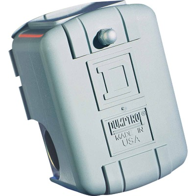 Square D Pumptrol 20 - 40 psi  Actuated Pressure Switch