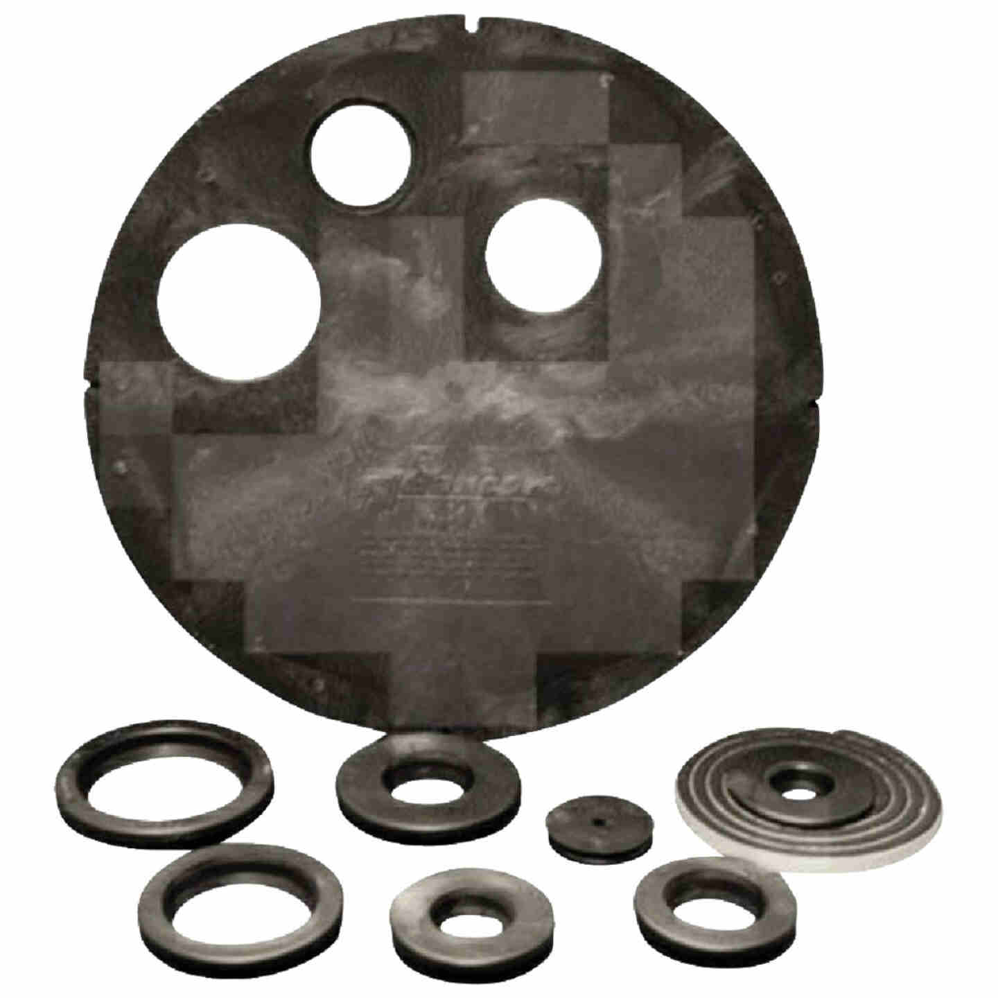 ADS HDPE 20 In. Dia. Radon Vented Sump Lid Image 1