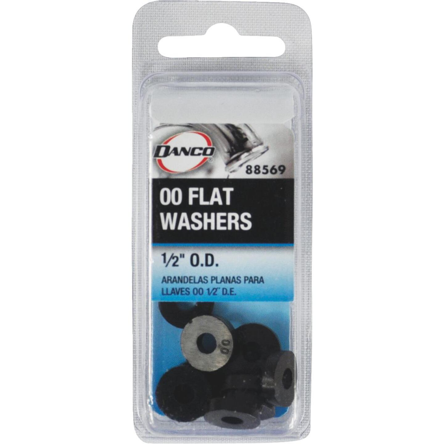 Danco 1/2 In. Black Flat Faucet Washer (10 Ct.) Image 2