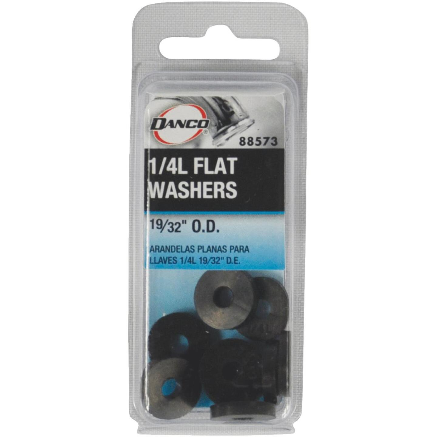 Danco 19/32 In. Black Flat Faucet Washer (10 Ct.) Image 2