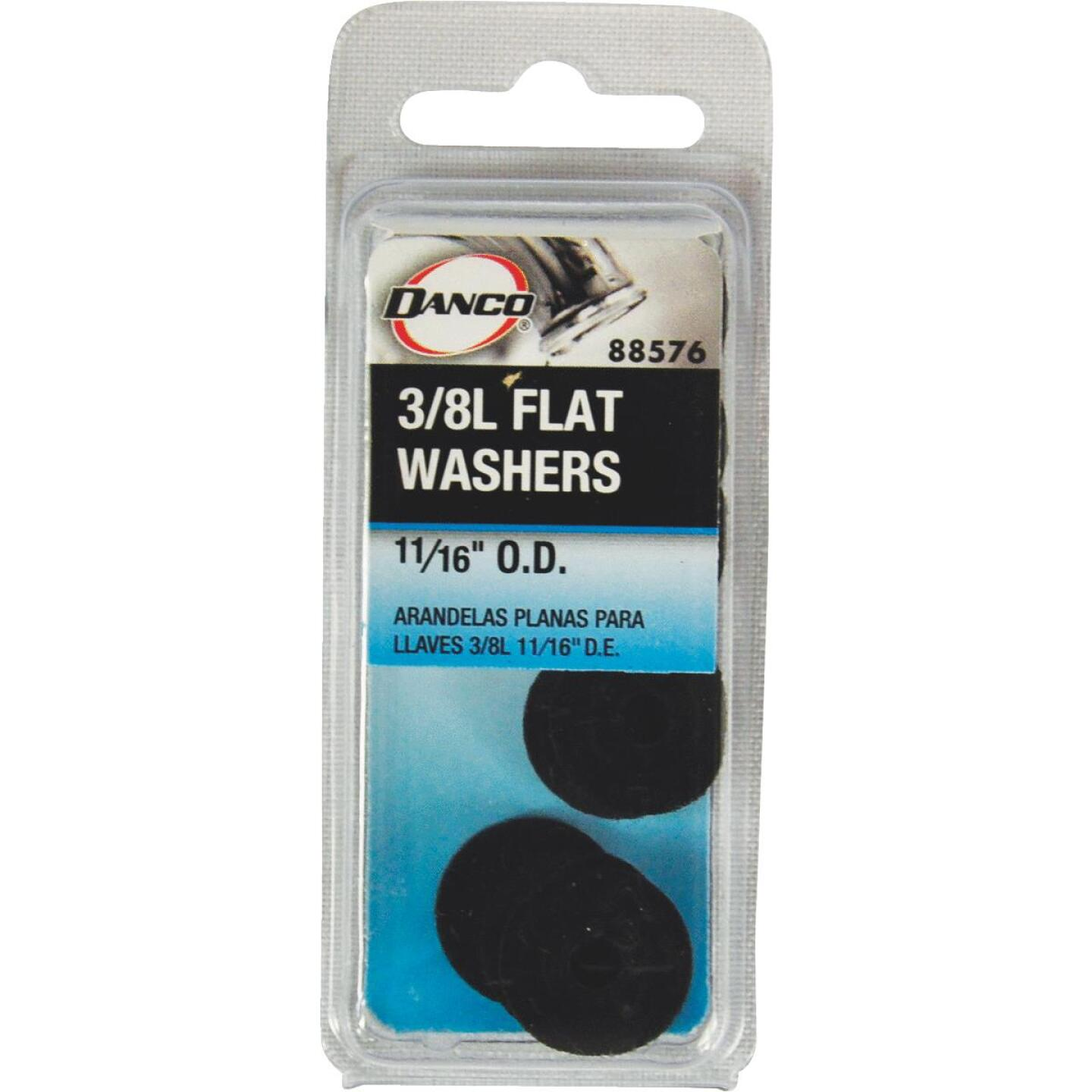 Danco 11/16 In. Black Flat Faucet Washer (10 Ct.) Image 2