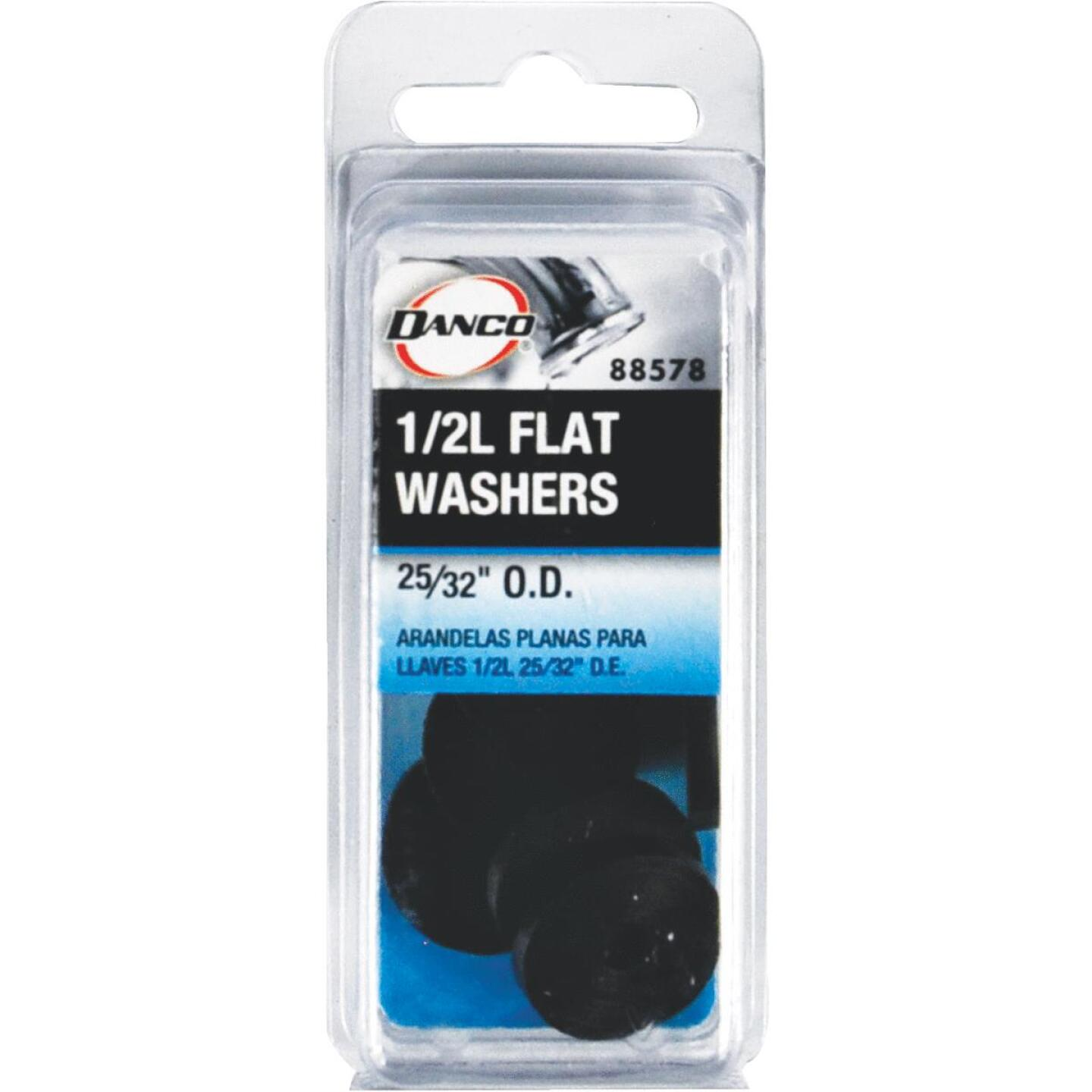 Danco 25/32 In. Black Flat Faucet Washer (10 Ct.) Image 2