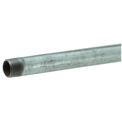 Southland 1-1/2 In. x 24 In. Carbon Steel Threaded Galvanized Pipe