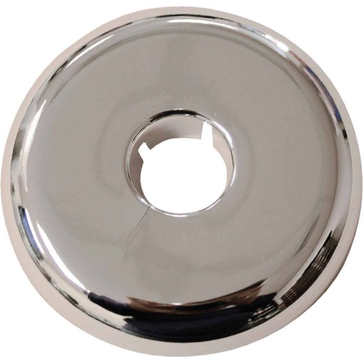 Jones Stephens 1/2 In. IPS or 3/4 In. CTS Chrome-Plated Polypropylene Flexible Flange