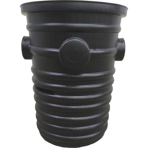 Advanced Basement 24 In. H. x 19 In. Dia. Polyethylene Sump Pump Well Liner