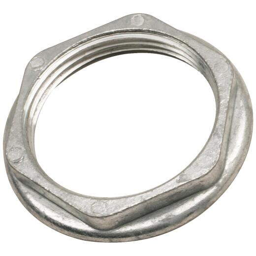 Do it 1-1/2 In. Metal Zinc Jam Nut