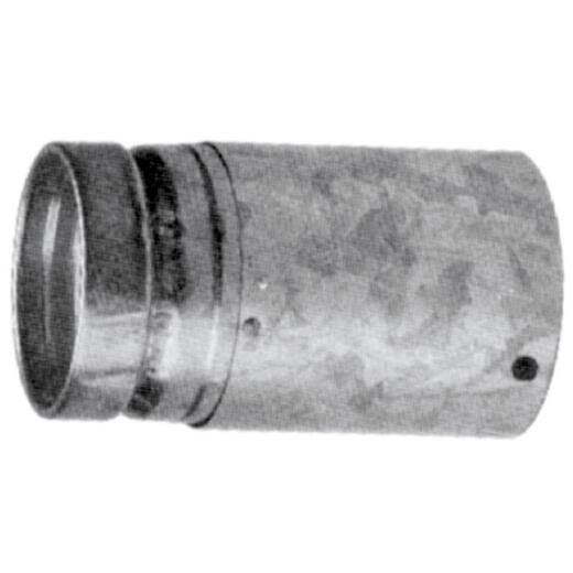 SELKIRK RV 4 In. x 12 In. Adjustable Round Gas Vent Pipe