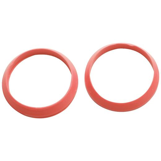 Do it 1-1/2 In. Red Rubber Slip Joint Washer (2 Pack)