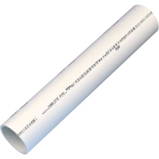 Charlotte Pipe 4 In. x 2 Ft. PVC-DWV Cellular Core Schedule 40 Pipe