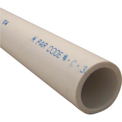 Charlotte Pipe 1 In. x 5 Ft. Schedule 40 Cold Water PVC Pressure Pipe