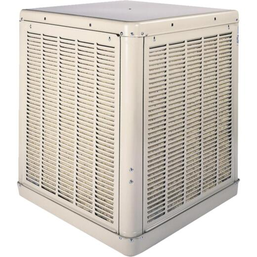 Essick 2240 to 4900 CFM Down Discharge Whole House Aspen Media Residential Evaporative Cooler, 800-1800 Sq. Ft.