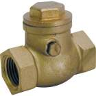 ProLine 1 In. Brass Swing Check Valve Image 1