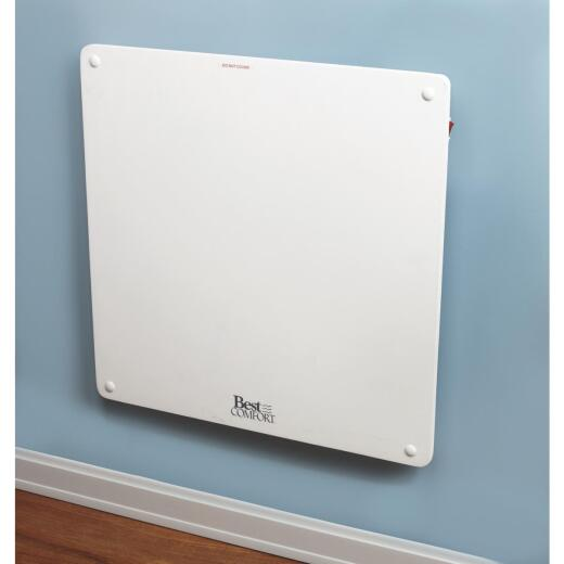 Best Comfort 400-Watt 120-Volt Wall Mounted Electric Panel Heater