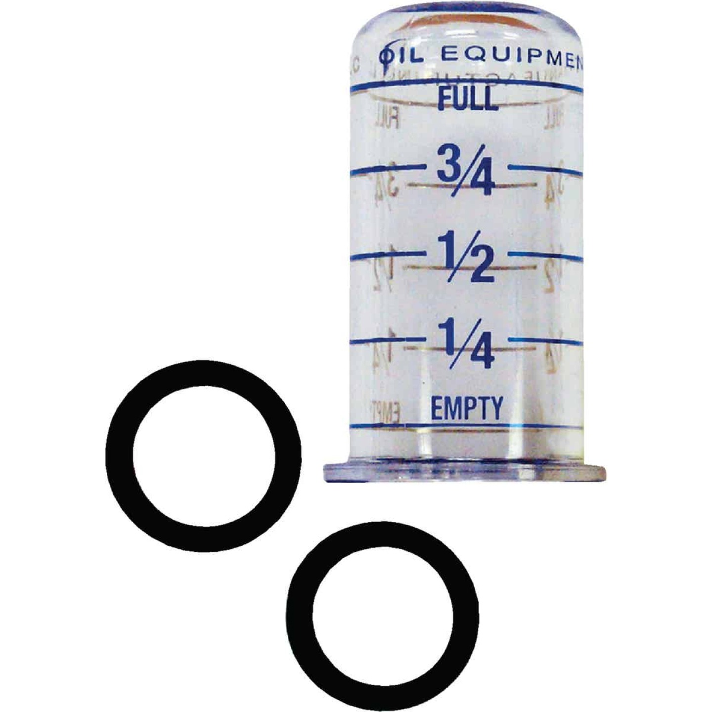 King Oil Tank Gauge Vial Image 1