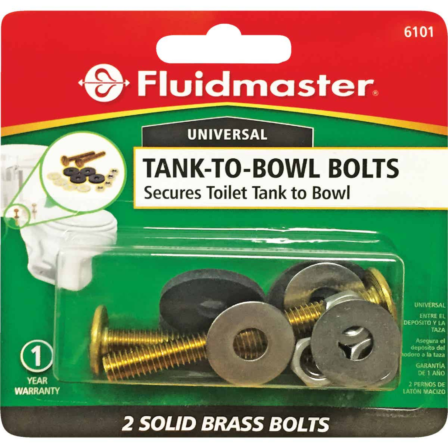 Fluidmaster Tank-to-Bowl Tank Bolts (2-Pack) Image 2