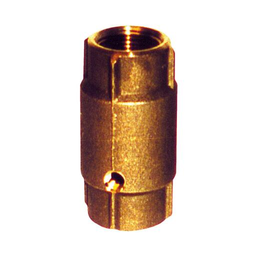Simmons 1 In. Silicon Bronze Spring Loaded Check Valve