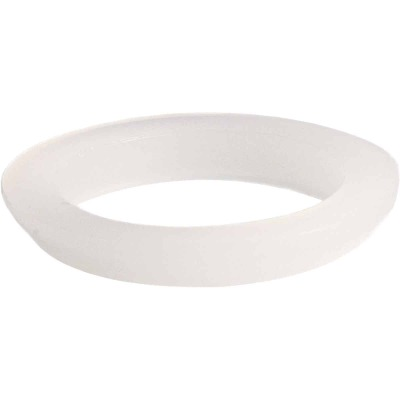 Danco 1-1/2 In. x 1-1/4 In. Clear/White Polyethylene Slip Joint Washer