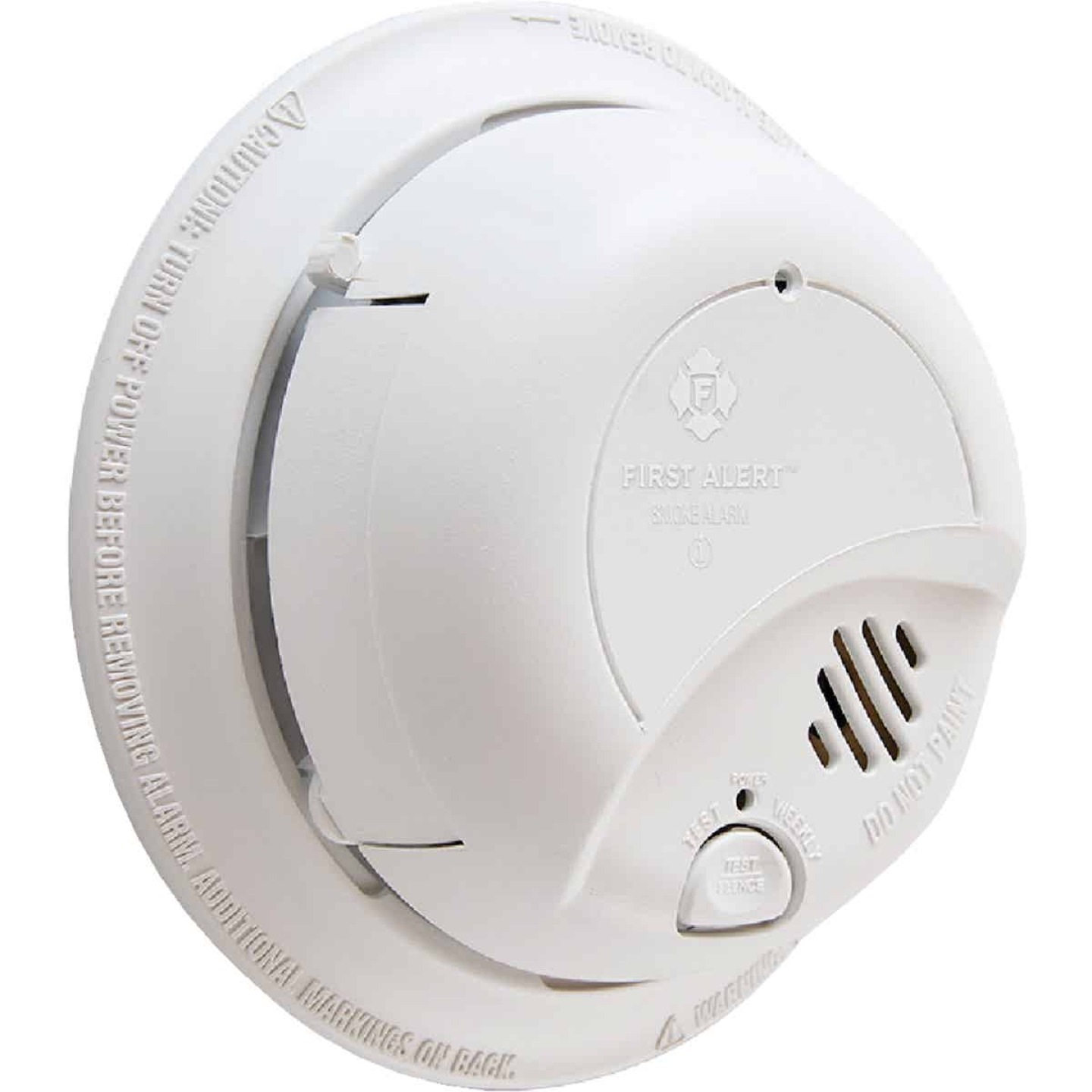 First Alert Hardwired 120V Ionization Smoke Alarm Image 1