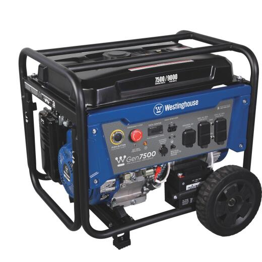 Westinghouse 7500W Gasoline Powered Portable Generator