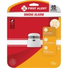 First Alert Atom 10-Year Sealed Battery Photoelectric Smoke Alarm Image 2