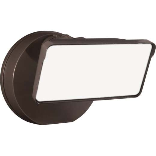 Halo Lumen Selectable Bronze Dusk To Dawn LED Floodlight Fixture