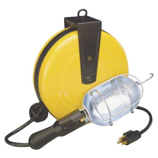 Alert Stamping 75W Incandescent Trouble Light with 30 Ft. Power Cord