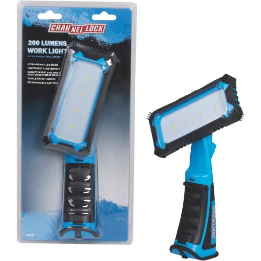 Channellock 200 Lm. LED Rechargeable Handheld Work Light