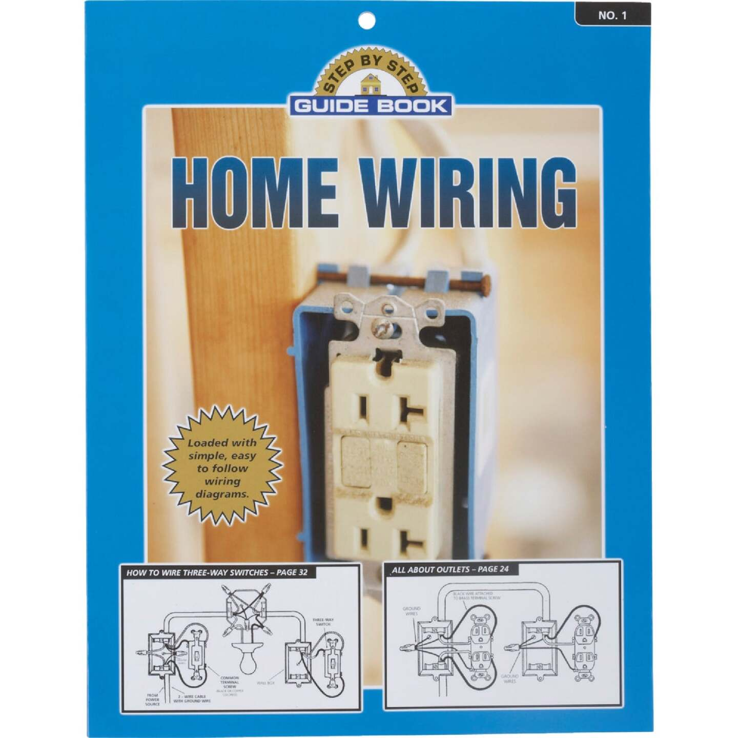 Step by Step Guide Home Wiring Manual Paperback Book Image 1