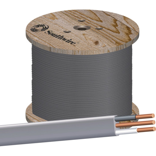 Southwire 1000 Ft. 10 AWG 2-Conductor UFW/G Wire
