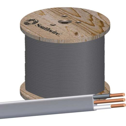 Southwire 1000 Ft. 12 AWG 2-Conductor UFW/G Wire