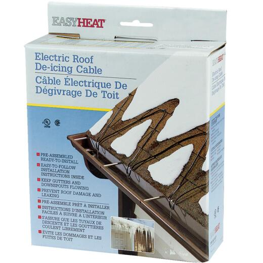 Easy Heat 80 Ft. 120V 5W De-Icing Roof Cable