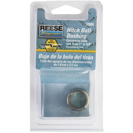 Reese Towpower 1 In. to 3/4 In. Hitch Ball Bushing