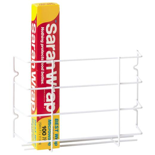 Grayline 12 In. L. x 3-5/8 in. D. x 8 In. H. Kitchen Wrap Rack