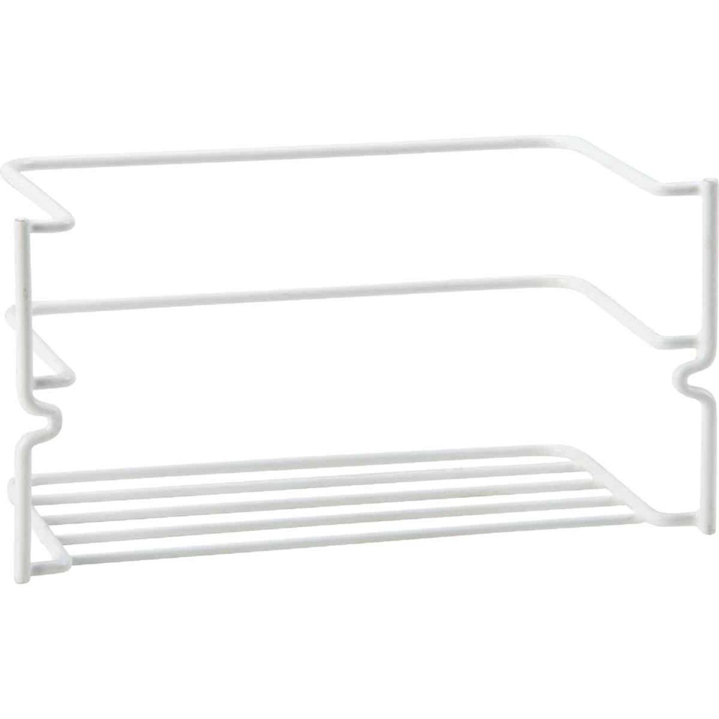 Grayline White Handy Caddy Cabinet Rack Image 1