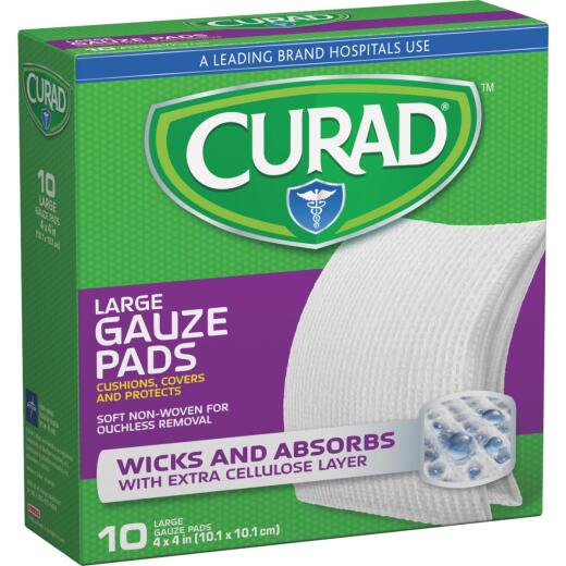 Curad Pro-Gauze 4 In. Bandages, (10 Ct.)