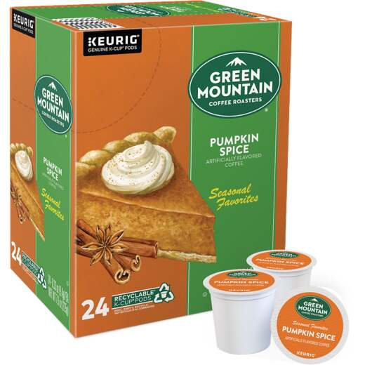 Keurig Green Mountain Coffee Pumpkin Spice K-Cup (24 Pack)