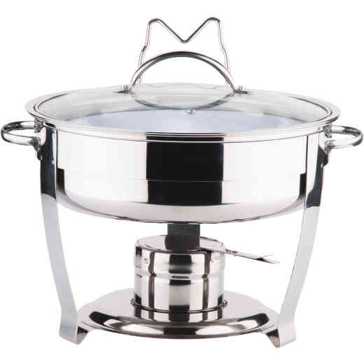 Culinary Edge 4 Qt. Stainless Steel Chafing Dish