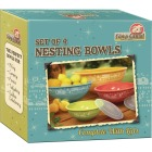 Camp Casual 100% Melamine Nesting Bowls with Lids Image 3