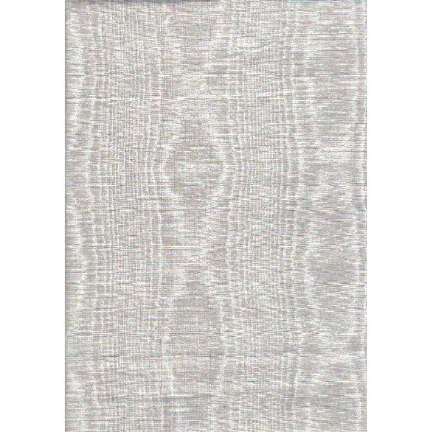 Nordic Shield 54 In. W. x 15 Yd. L. White Flannel Backed Vinyl Tablecloth Image 1