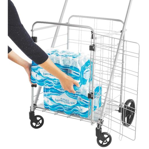 Whitmor Front Access Utility Shopping Cart