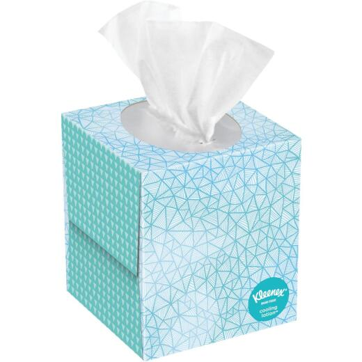 Kleenex Cooling Lotion 2-Ply Facial Tissues (45-Count)