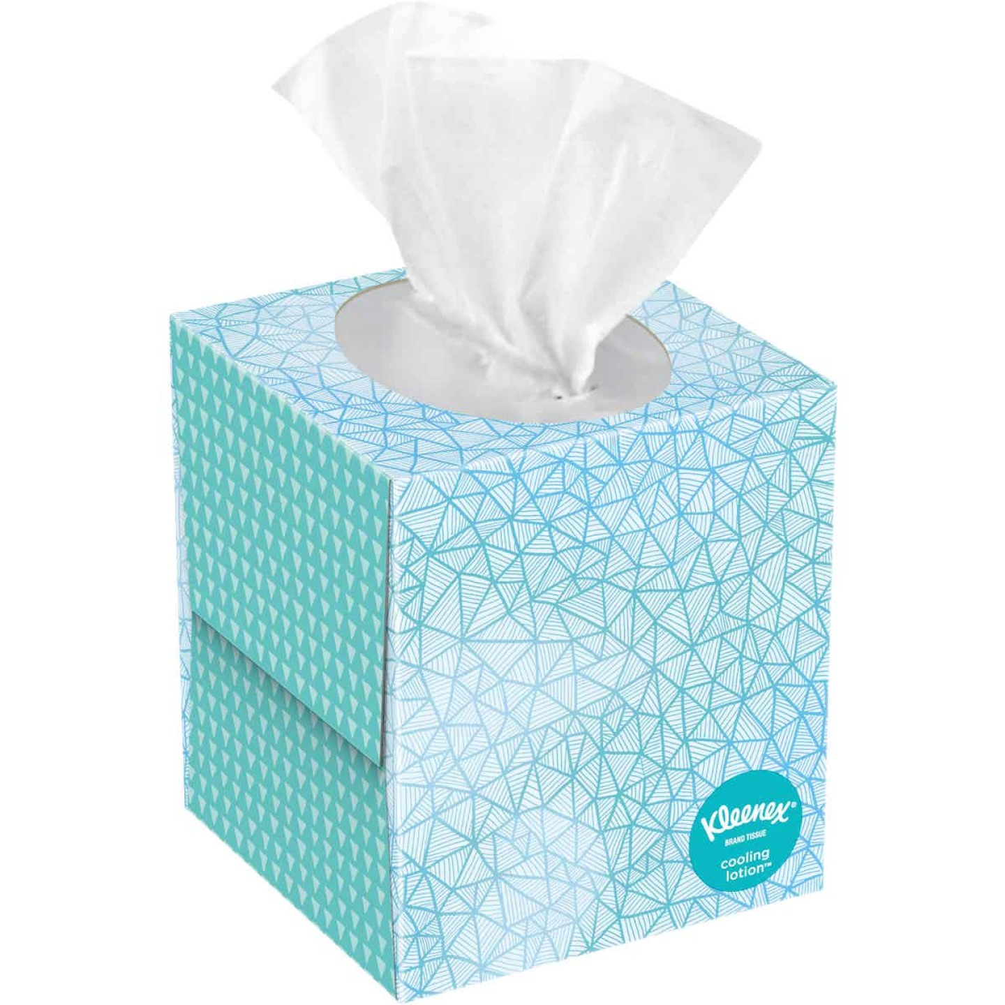 Kleenex Cooling Lotion 2-Ply Facial Tissues (45-Count) Image 1