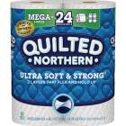 Quilted Northern Ultra Soft & Strong Toilet Paper (6 Mega Rolls) Image 1